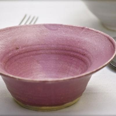 Ref. 015, ø 11 cm, esmalte Violeta Borgoña