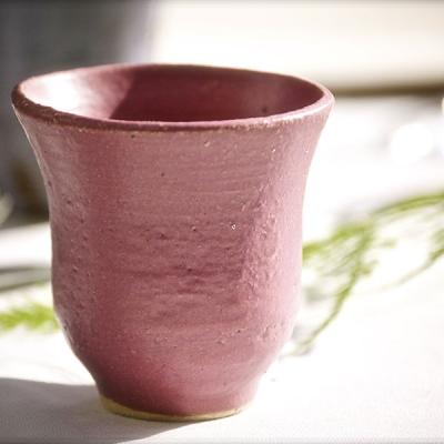 Ref. 027 - altura 8 cm, esmalte violeta Borgoña
