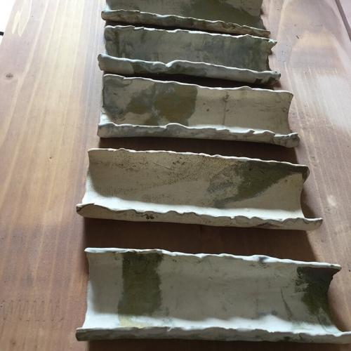 Ref. 520 - 13 x 4 cm, acabado Nereage