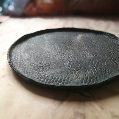 Ref. 501, ø 29,5 cm, negro especial con textura